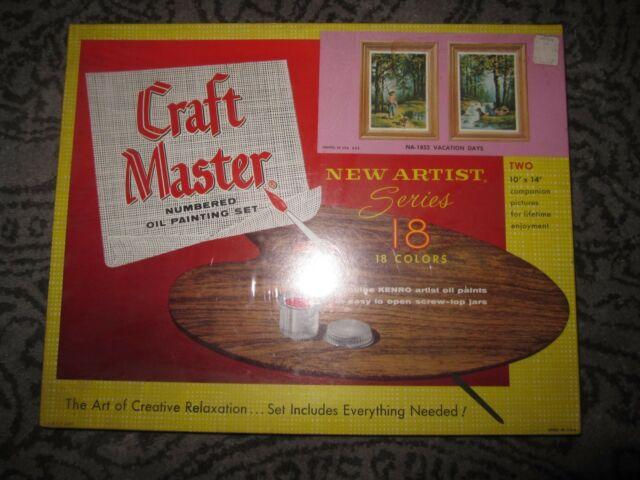 تابلو رنگ آمیزی بزرگسالان -craft master