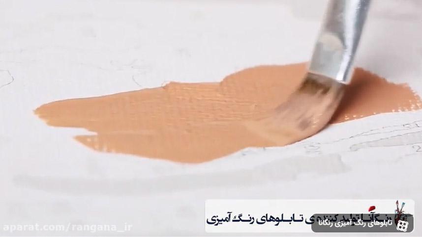 نقاشی بدون نیاز به مهارت با تابلوهای رنگ آمیزی رنگانا