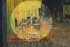 کافه تراس در شب اثر ونسان ون گوگ