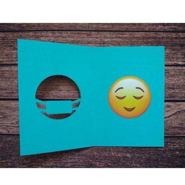 کارت پستال لبخند پشت ماسک کد RP05