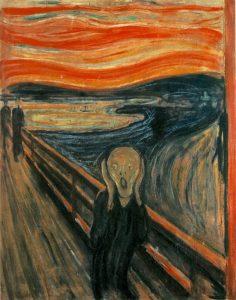 تابلو جیغ اثر ادوارد مونک
