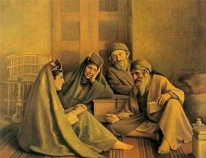 یهودی فالگیر بغدادی اثر کمال الملک